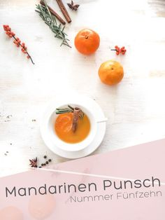 Mandarinen-Punsch I Nummer Fünfzehn