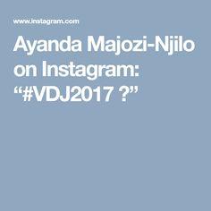 """Ayanda Majozi-Njilo on Instagram: """"#VDJ2017 🌸"""" Africa, Instagram, Afro"""