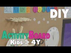 DIY Activity Board | Ideen für Kinder ab 4-5 Jahren | mamiblock - Der Mami Blog - YouTube