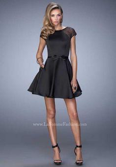 La Femme Short Dress 21984