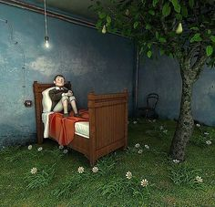 Can you believe these are drawings and not digital images? Beautiful 3d Cartoons by Matt Roussel