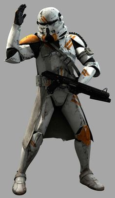 A clone paratrooper of the 212th attack battalion.