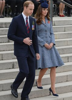 The Duke and Duchess of Cambridge remember the fallen on ANZAC day