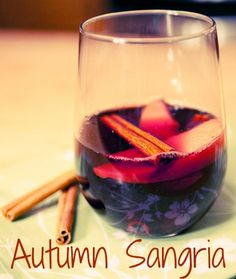 Even better than mulled wine ... Autumn Sangria.  Recipe:  http://thetravelbite.com/recipes/autumn-sangria/
