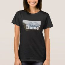 You can get your own shirt that shows how much you love Montana and that you are proud to call it home.  I has the Montana state outline with mountains and trees along with the word home.
