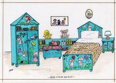 KINITA Y SU FAMILIA - Araceli Heloise - Álbumes web de Picasa Big Family, Children And Family, Paper Houses, Vintage Paper Dolls, Retro Toys, Art Pages, Dollhouse Furniture, Beautiful Children, Artist