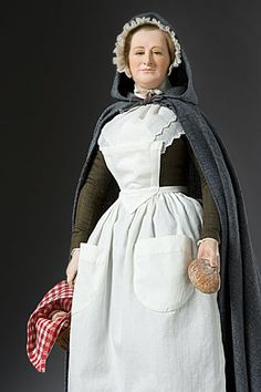 Martha Washington - Figure from the Museum of Ventura County collection.  Historical Figures Collection by George Stuart.