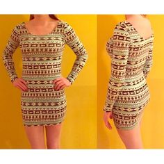 CLOSET CLEAROUT! Tight dress for any event! This dress has only been worn once, and is perfect for a night out or a fancier day outfit! In great condition! REDUCED PRICE FOR TONIGHT ONLY!!! Charlotte Russe Dresses Long Sleeve