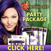 Throw a Descendants Party with FREE Printables Theme Ideas, Party Themes, Party Ideas, 9th Birthday, Birthday Parties, Mother Daughter Trip, Disney Decendants, Girl Parties, Descendants 2
