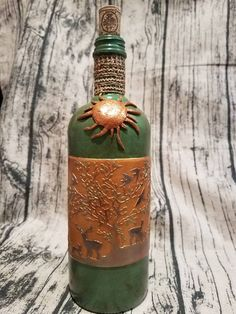 Check out this item in my Etsy shop https://www.etsy.com/listing/539837559/decorated-absolut-bottle-clay