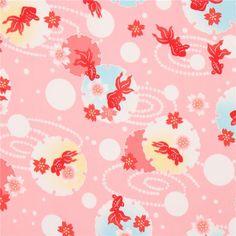 http://www.kawaiifabric.com/en/p11754-pink-cute-fish-flower-dot-fabric-from-Japan.html