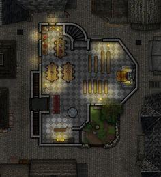 St. Caspiernan's Mission - 1st floor v2 by RonPepperMd.deviantart.com on @DeviantArt