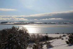 Winterliche Malreise auf Rügen | Blick über den winterlichen Bodden bei Middelhagen(c) Jost Grünheid (2) #Winter #Schnee #Mecklenburg-Vorpommern #Rügen #Ostsee