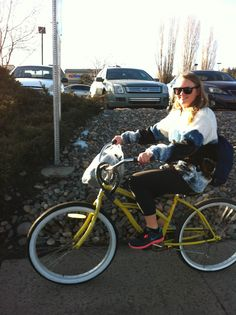#3 The Yellow bikes are one of the best things of NAU!