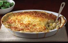 """Jamie Oliver's Fantastic Fish Pie – I remember him making this on """"The Naked Chef,"""" and he used a mix of fresh and smoked fish. Lots of cream and cheese. Nummers."""