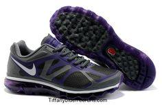 Cool Grey Metallic Silver Pro Purple Nike Air Max 2012 Boys