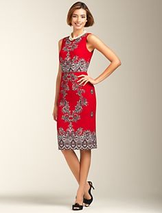 Talbots - Paisley-Print Dress | Dresses | Misses