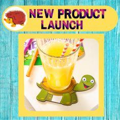Novelty coasters, a little different from my usual products, get your free sample today, just click the link to visit my shop. #free #offer #novelty #coaster #turtle # party #decoration Kids Party Tables, New Product, Product Launch, Turtle Party, Free Samples, I Shop, Coasters, Barn, Shapes