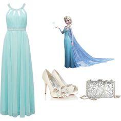 Frozen: Elsa, created by cecyluvsfashion99 on Polyvore
