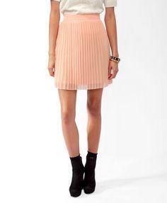 Knife Pleated Skirt | FOREVER21 - 2025102034