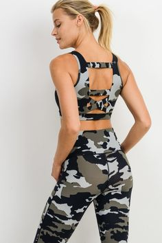 Mono B manufactures a wide variety of styles and colors for women's printed dresses, jumpsuits, pants, long skirts, and more. Wholesale Fashion, Wholesale Clothing, Camo Bra, Clothes For Sale, Clothes For Women, Camo Print, The Fresh, Bra Tops, Fitness Fashion