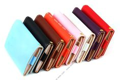 Wallet Card Holder Purse for Apple iPhone 5 Case Cover Cell Phone Bag