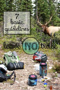 Outdoor Ethics: 7 Basic Guidelines of Leave No Trace - Learn how to be an environmentally-friendly outdoor adventurer with the 7 basic guidelines of Leave - Scout Camping, Camping Guide, Camping And Hiking, Family Camping, Camping Hacks, Outdoor Camping, Tent Camping, Walmart Camping, Camping Mattress