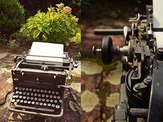 My vintage typewriter