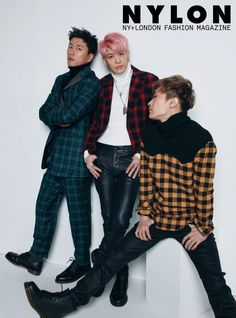 Sechs Kies Jang Su Won, Kang Sung Hoon, Kim Jae Duk - Nylon Magazine