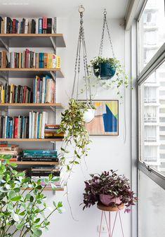 Plantas pendentes e como usá-las. Uma matéria com dicas de espécies e cultivo para deixar a casa mais verde!