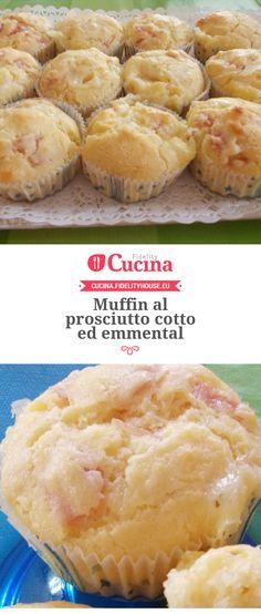 Muffin al prosciutto cotto ed emmental