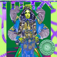 "TOUCH this image: M.I.A. ""COME WALK WITH ME"" 9.3 by Interscope"