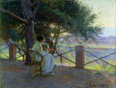 Elin Danielson-Gambogi (1861–1919)   Tramonto, 1915