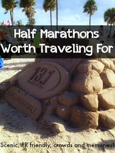 Pack your bags for this list of Half Marathons Worth Traveling For! #running #training