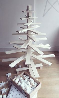 DIY Sapin de Noel en bois 7