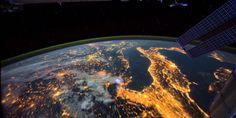 ISS'nin Yayınladığı Uzay'dan Harika Dünya'ya Bakış Videosu