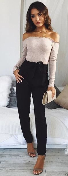 #fall #outfits Sunny Morning Crop Top In Mocha