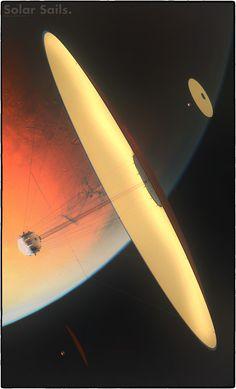 Solar Sails II by GrahamTG on DeviantArt