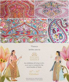 Vismaya endeavors to revive ancient weaves and traditional embroideries by creating timeless pieces of wearable art. We are thrilled to showcase this Heirloom Collection of pashmina shawls and stoles at the Royal Fables from 15th - 16th October, 2016 at Hyatt Regency Delhi. #RoyalFables2016 #Vismaya #VismayainIndia #VismayaonTour #DesignedinLA #CraftedinLA #Scarves #IwearHandloom #Handcrafted
