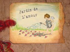 Jardine de L'amour - Third Coast Rubber Stamps