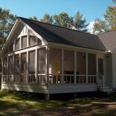 Screened Porch Designs, Screened In Porch, Back Porch Designs, Front Porches, Porch Kits, Porch Ideas, Patio Ideas, Backyard Ideas, Porch Addition