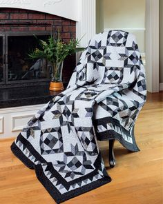 Mist quilt from Knockout Neutrals by Pat Wys