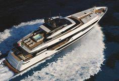 First Custom Line 120 superyacht under construction