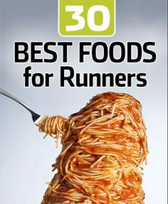 Best food for runners: a PDF that includes the foods and recipes