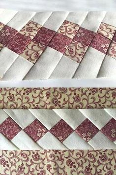 Le plus chaud Photos cuadros de Patchwork Style Patchwork Quilting, Seminole Patchwork, Crazy Patchwork, Patchwork Patterns, Quilt Block Patterns, Quilt Blocks, Patchwork Ideas, Patchwork Pillow, Jellyroll Quilts