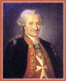 Franz Albert Leopold Fortunat von Oberndorff (* 15. November 1720 in Regendorf, Oberpfalz; † 29. Mai 1799 in Mannheim)