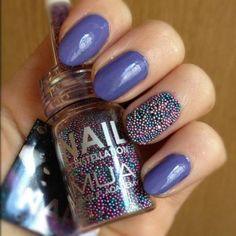 caviar nails // Tumblr