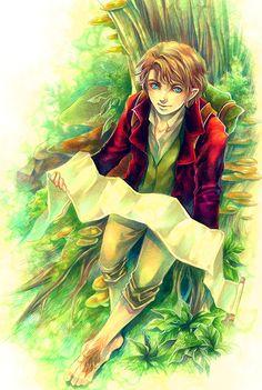Bilbo Baggins by Ecthelian.deviantart.com on @deviantART