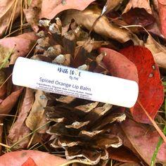 Spiced Orange Lip Balm | Vegan Lip Balm | Organic Lip Balm | Orange Spice Lip Balm | Lip Balm | For Dry Lips | Fall Lip Balm by madewithlovebykm on Etsy https://www.etsy.com/listing/567159445/spiced-orange-lip-balm-vegan-lip-balm