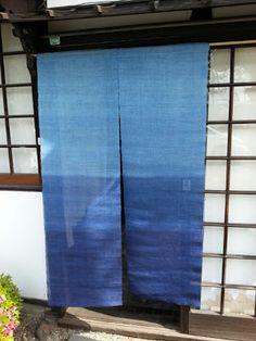 Aizome/shibori Noren 中田屋ブログ http://blog.nakada-ya.com